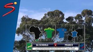 U/19 International Series: South Africa Schools vs France 2nd Half