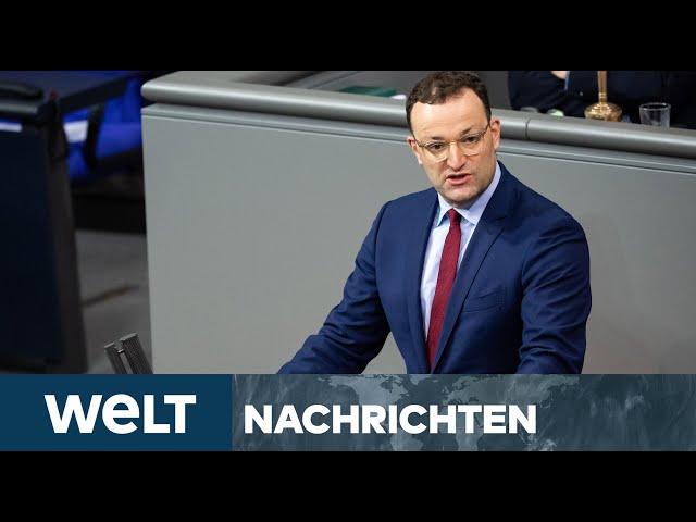 LIVE DABEI: Regierungserklärung von Gesundheitsminister Spahn zu Corona-Impfungen in Deutschland