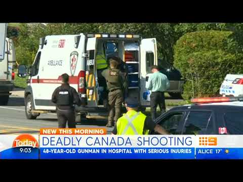 Canadian cops killed by gunman 11 08 2018
