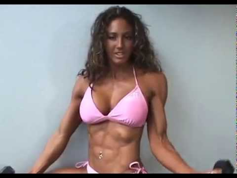 Cute Fitness Girl biceps and triceps workout from YouTube · Duration:  1 minutes 43 seconds