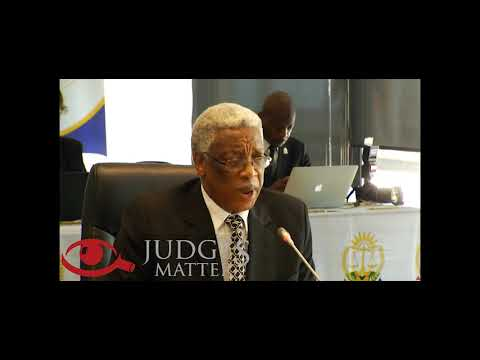 JSC interview of Judge S M Mbenenge for JP of the Eastern Cape High Court (Judges Matter)