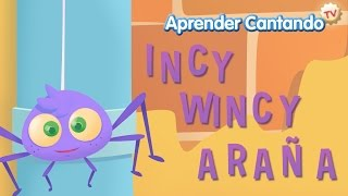 Incy Wincy Araña - Canciones Infantiles de Aprender Cantando