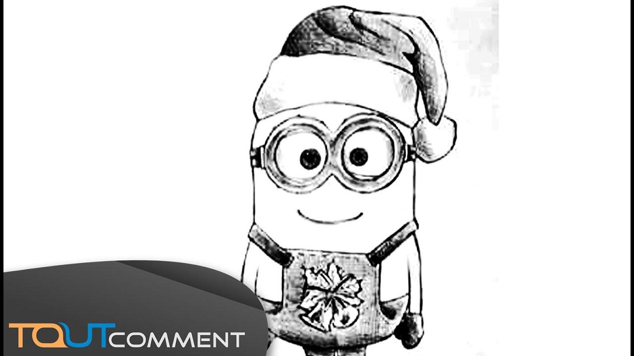 Dessiner Un Minion De Noel Moi Moche Et Mechant Youtube
