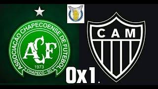 Video Gol Pertandingan Chapecoense-SC vs Atletico MG