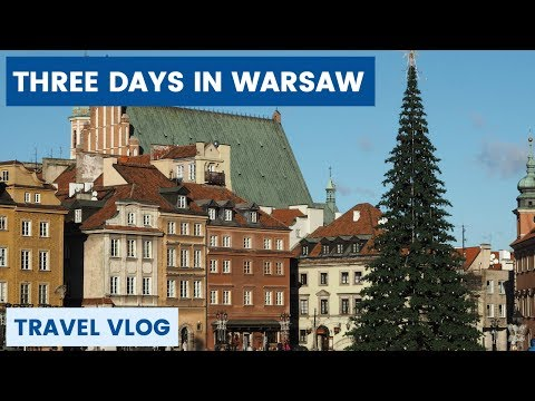 Katy Goes to Warsaw | TRAVEL VLOG