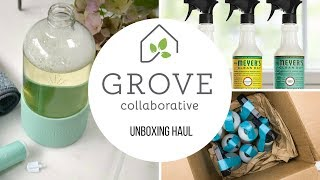 Grove Collaborative | Unboxing & Haul | OMG Impressed