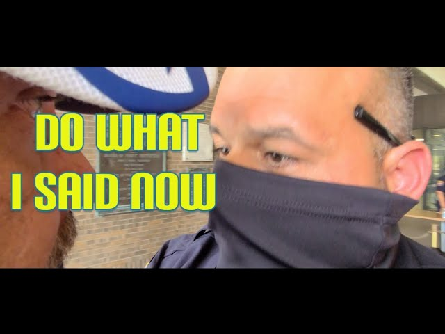 Cops dont know the law & lose it gives false directives with intimidation fail 1st amendment audit