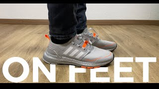 HOW THEY LOOK ON FEET | Adidas ULTRABOOST WINTER.RDY | 'Grey Two/Cloud White/Signal Orange' | 2020
