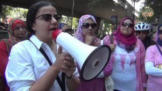 """بالفيديو- رجال ونساء """"ايد واحدة"""" في مواجهة سرطان الثدي في مهرجان """"انتي جميلة"""""""