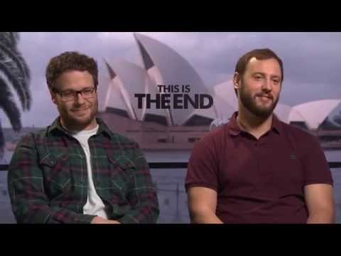 Seth Rogen And Evan Goldberg 'This Is The End' Interview (The Feed)