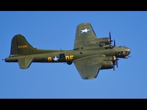 Boeing B 17 Flying Fortress 'Sally B' - Duxford, UK  Meet The Fighters 2016