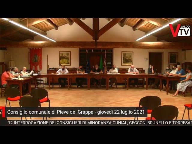 Consiglio comunale Pieve del Grappa