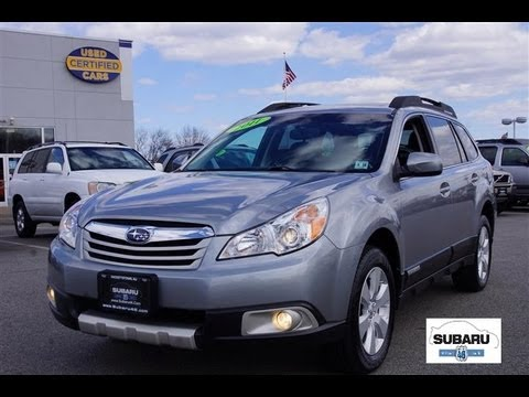 2011 Subaru Outback 25i Limited Youtube