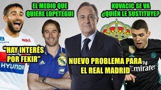 PROBLEMA PARA EL REAL MADRID | EL MEDIO QUE QUIERE LOPETEGUI |