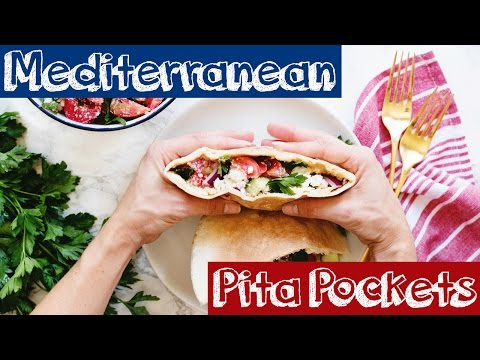 Greek Pita Sandwiches
