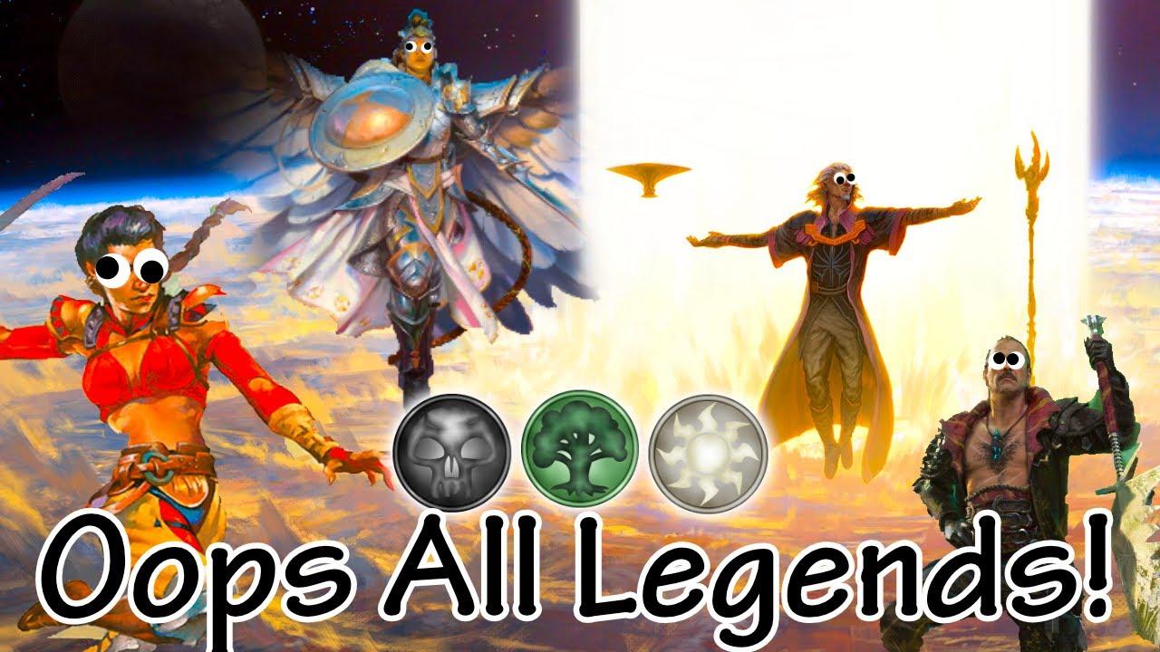 Oops All Legends - Historic Abzan Legends in BO1 Historic