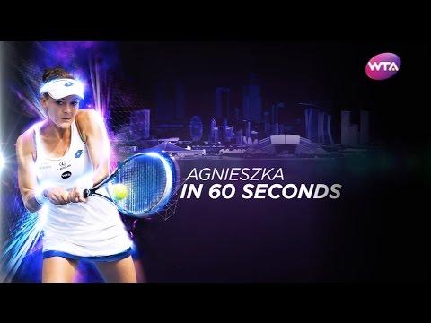 Agnieszka Radwanska: Career in 60 Seconds