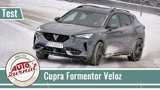 Cupra Formentor VZ 2.0 TSI 228 kW/310 PS: Test na snehu/Test on Snow