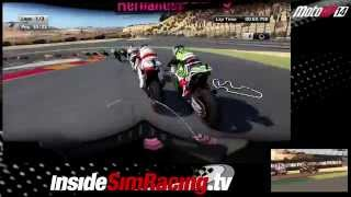 MotoGP 14 race at Gran Premio Movistar de Aragon in Spain