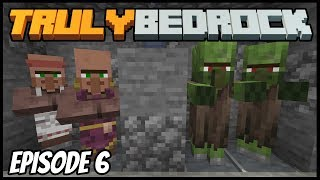 Big Derps And Getting My First Villagers! - Truly Bedrock (Minecraft Survival Let's Play) Episode 6