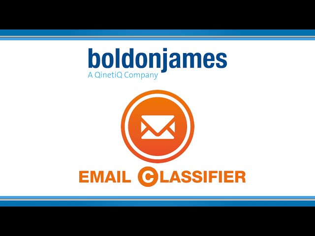 Boldon James | Email Classifier