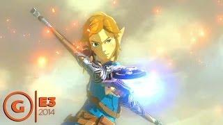 The Legend of Zelda Wii U Demo - E3 2014