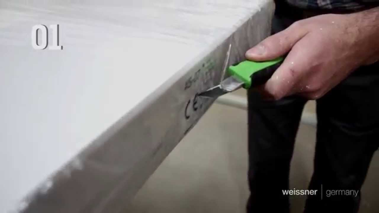 Hervorragend Anleitung Türenmontage - Kollektion Alu-Safeline - YouTube LI42