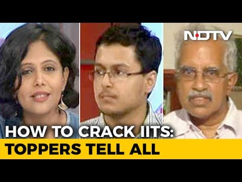 IIT Toppers Share Their Secrets