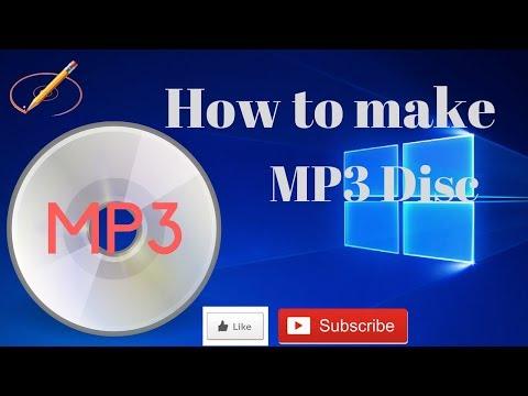 How to Create an MP3 CD using BurnAware Free