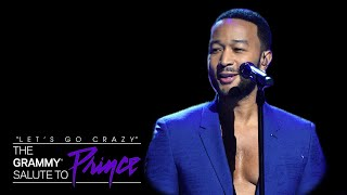 """John Legend Performs """"Nothing Compares 2 U"""" 
