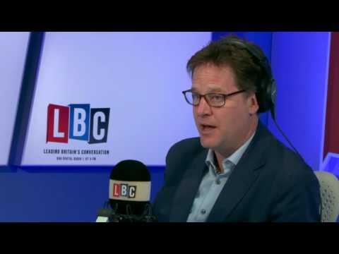 Nick Clegg on LBC with Nick Ferrari 09/05/17