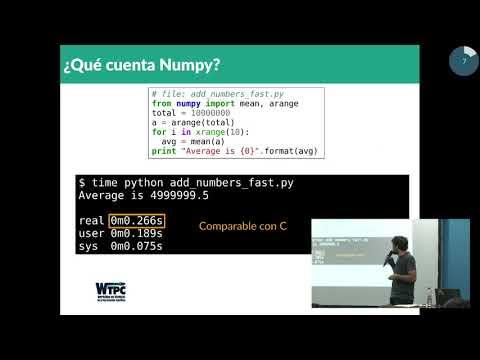 Image from La Computación de Alto Desempeño puede ser versátil: comunicando C y FORTRAN con Python