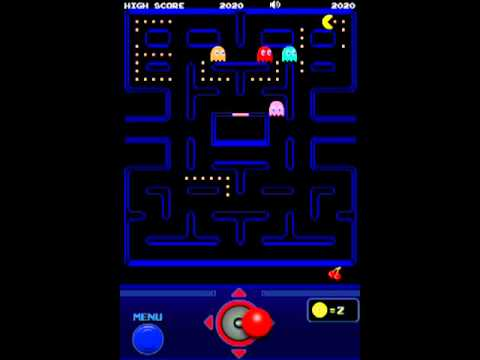 Pac Man Lite App Gameplay Ipodtouch/iphone/ipad