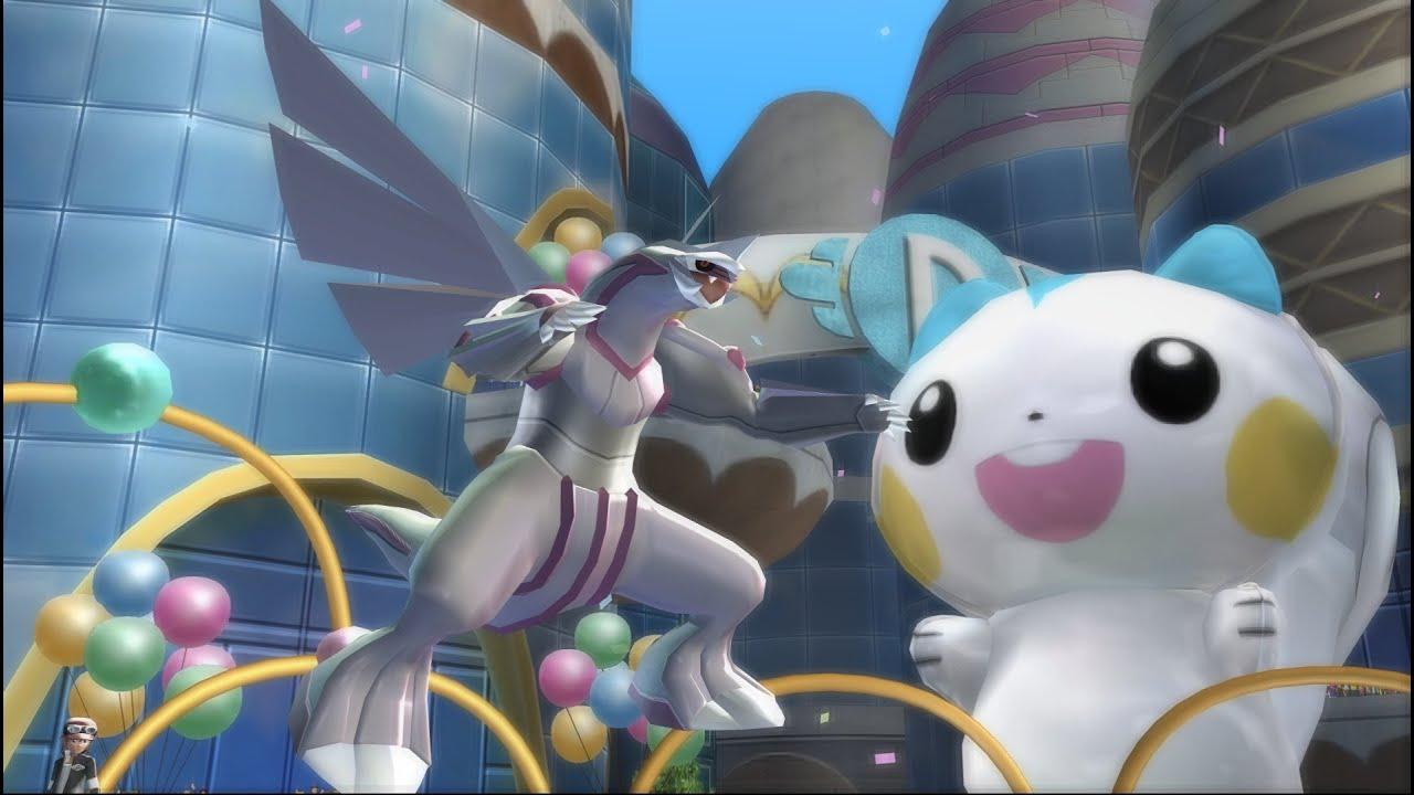 神奇寶貝 Pokemon 上古神獸 帕路奇犽/パルキア/Palkia ~ 戰鬥影片 - YouTube