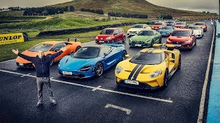 Performance Car Of The Year Contenders - Top Gear