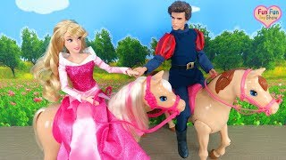 Barbie doll Horse Walking & Dancing ! Barbie Saddle'N Ride Horse Kuda boneka Barbie Cavalo de boneca