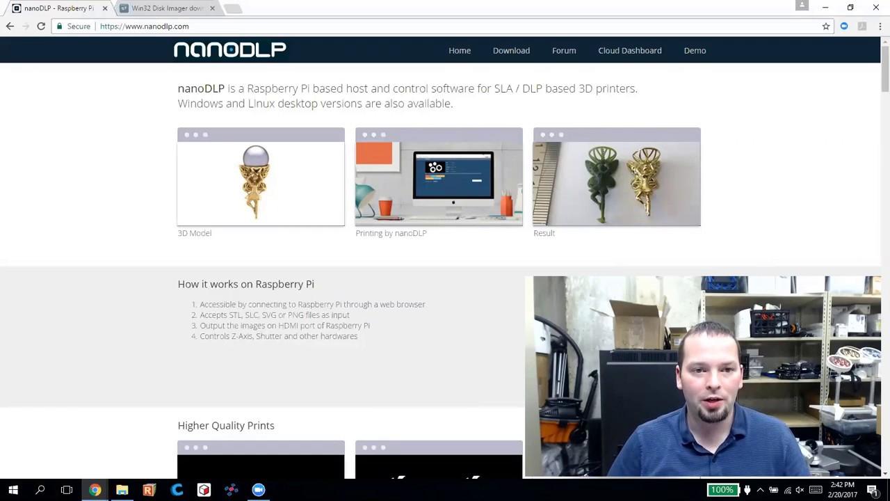 D7 NanoDLP Installation « 3d Printer Tips and Mods Wiki