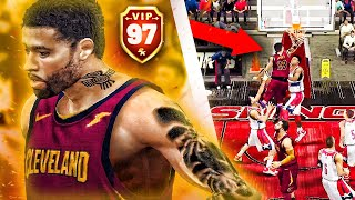 NBA 2K20 Mobile MyCAREER #5 | 97 OVR LeMobile James Catches His First Body With Crazy CONTACT DUNK!