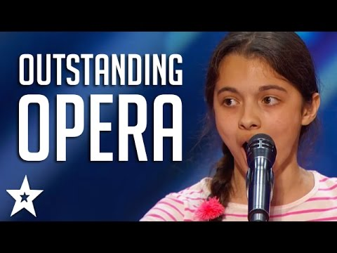 OUTSTANDING OPERA Acts on Got Talent  Including Laura Bretan, Susan Boyle & More!