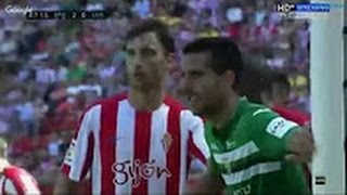 Video Gol Pertandingan Sporting Gijon vs Leganes
