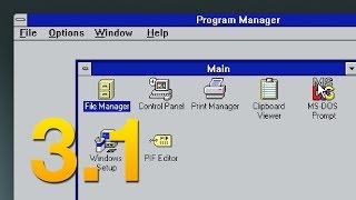 A Tour of Windows 3.1