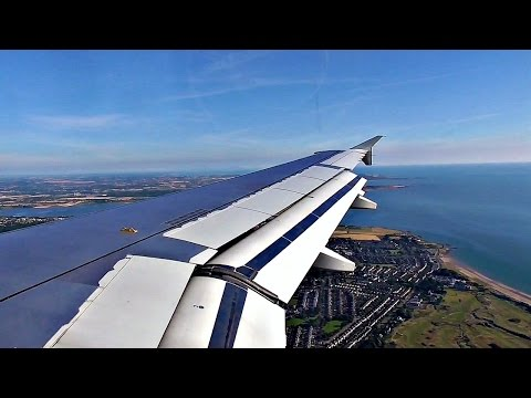 HARD LANDING | Aer Lingus Airbus A320 at Dublin Airport | ✈