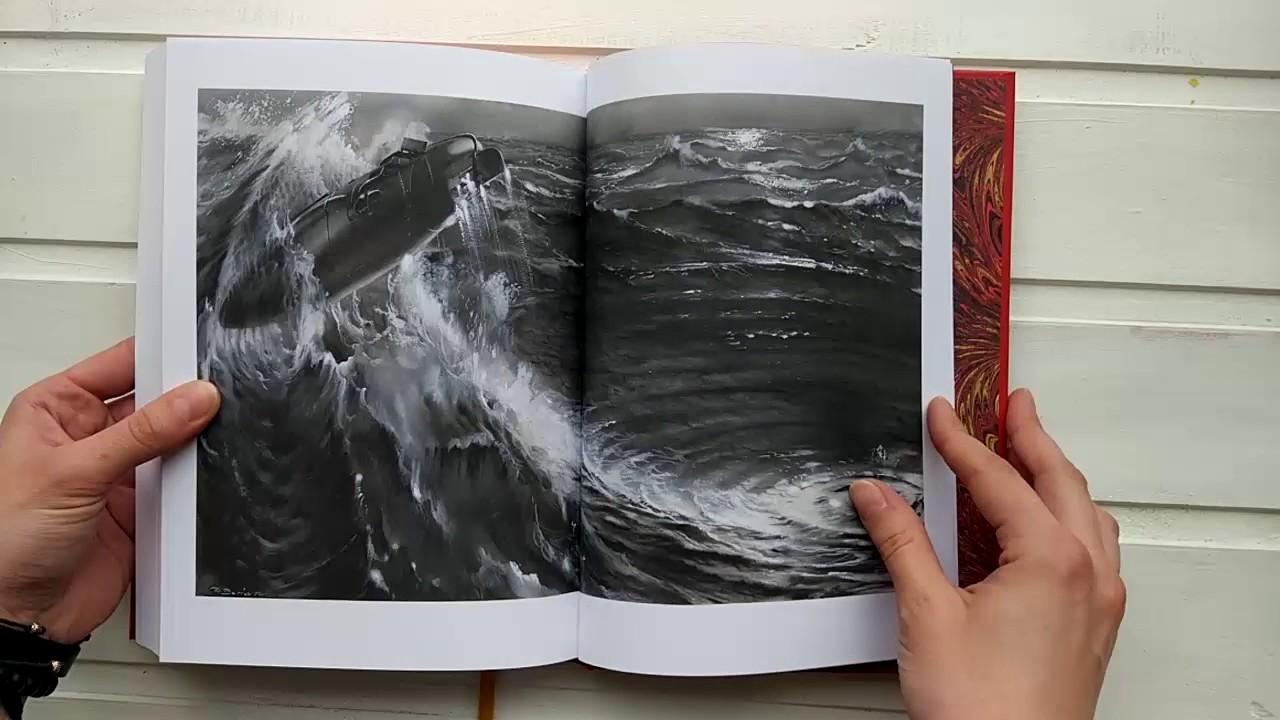 Жюль Верн. Двадцать тысяч лье под водой. Листаем книгу
