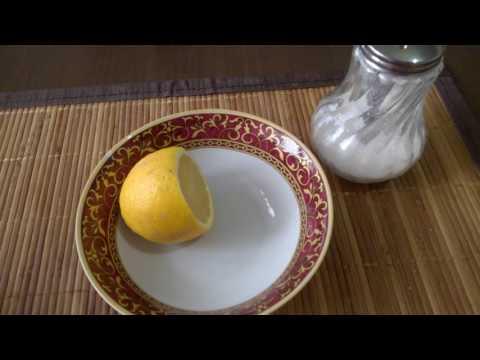 Как сохранить лимон свежим/How to keep fresh lemon