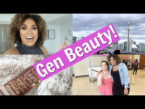 Gen Beauty 2017! Meeting Michelle Phan, Swag Bag and Roux!