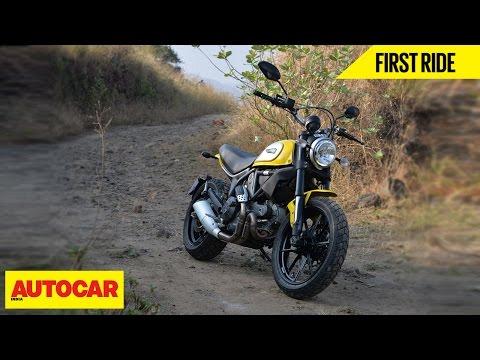 Ducati Scrambler Icon | First Ride | Autocar India