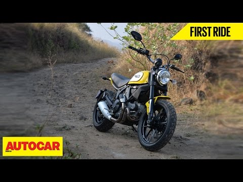 Ducati Scrambler Icon | First Ride | Autocar India