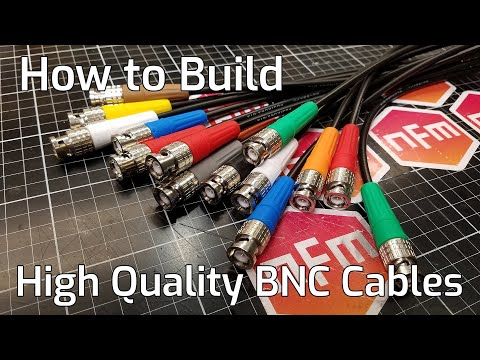 How To Crimp High Quality BNC Connectors