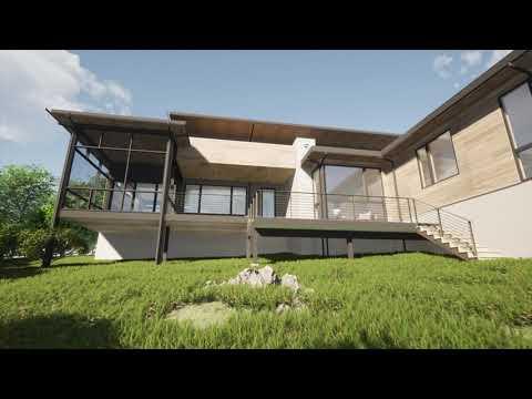 Viksnins Modern Prairie Residence - The Ramble