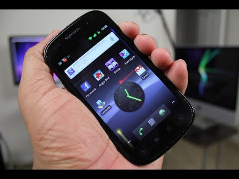 Nexus S: Gingerbread Demo (Android 2.3)